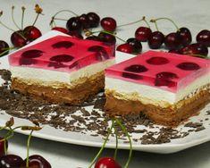 Εύκολο μπισκοτογλυκό ψυγείου με κεράσια – foodaholics.gr Greek Recipes, Custard, Tiramisu, Cheesecake, Food And Drink, Keto, Cream, Cooking, Ethnic Recipes