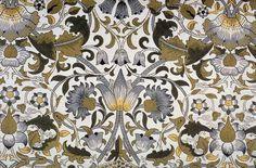 Tapiz del diseñador y pensador británico William Morris (1834-1896). Este renacentista se reveló ante el paisaje que veía que estaba construyendo el nuevo capitalismo industrial y denunció la vulgaridad que suponía la producción en masa y el imperio del diseño estandarizado.