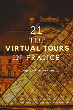 Indulge in some armchair travel with our pick of the best virtual tours. From palaces to museums, from Roman ruins to street art, there's a virtual visit in France for everyone! Palaces, Virtual Tour, Museums, Holiday Ideas, Roman, Street Art, Armchair, Tours, France