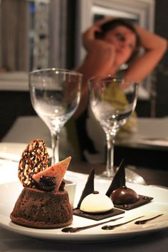 Alazonia restaurant Restaurant Bar, Chocolate Fondue, Menu, Desserts, Food, Menu Board Design, Tailgate Desserts, Deserts, Essen