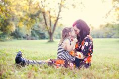 love this mommy and daughter shot