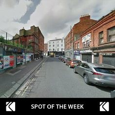 SECURE undercover parking near O'Connell street (Chinatown). Our 'Spot of the Week' is just €15/day.