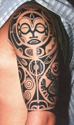 Maori Tribal Tattoo