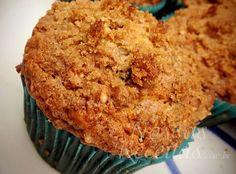 Receita de tortinha tipo muffin de maçã crocante