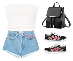 """""""Untitled #651"""" by aleesha198 on Polyvore featuring Forte Couture and Vans"""