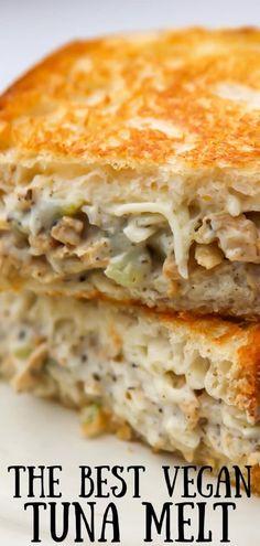 Best Vegetarian Sandwiches, Easy Sandwich Recipes, Easy Vegetarian Lunch, Easy Vegan Dinner, Best Vegetarian Recipes, Vegan Lunches, Healthy Sandwiches, Delicious Vegan Recipes, Meat Recipes