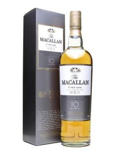 Macallan 10 Year Old / Fine Oak