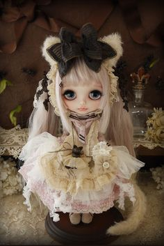 BJD Cafe: Cat girl design by Milk Tea