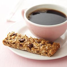 Chocolate Chip Power Bars - Good recipe, but I'd try cutting out a little more of the brown sugar and honey. Replace the semi-sweet chips with dark chocolate chips instead.