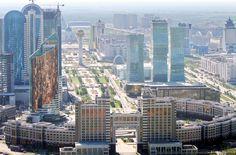 Astana, Kazakhstan - Panorama City.
