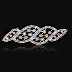 1Pcs Rectangle Crystal Trim Applique Rhinestone Patch Sew on Wedding Sashes  Dress DIY Bridal Sewing Crafts 3e4270b00d96