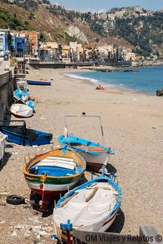 Giardini Naxos Bay, Sicily , Italy, province if Messina Regions Of Italy, Sicily Italy, Southern Italy, Visit Italy, Fishing Villages, Beach Trip, Palermo, Where To Go, Strand