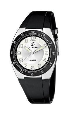 Calypso watches Jungen-Armbanduhr Analog Kautschuk K6044/C - http://kameras-kaufen.de/calypso/calypso-watches-jungen-armbanduhr-analog-k6044-c