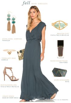 Great Maxi Dresses For Fall