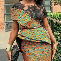 The collection of Beautiful Ankara Pattern Styles For Ladies you've ever wanted to see. Want to style and pattern your African print ankara African Fashion Designers, African Fashion Ankara, Latest African Fashion Dresses, African Print Dresses, African Print Fashion, Africa Fashion, African Wear, African Attire, African Dress