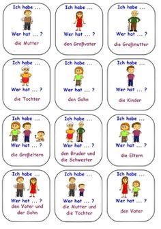 Study German, Learn German, Comprehensible Input, German Language Learning, Perfect Resume, German Words, World Languages, School Signs, Primary School