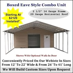 Metal Carports, Metal Buildngs, RV Covers, Steel Garages