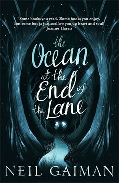 "glassolive: neil-gaiman: The UK ""special Christmas cover"" of the Ocean at the End of the Lane, coming out, erm, in time for Xmas… I've read this book, in pieces and in full, over and over this year. for some time, i would carry it with me everywhere I went. It's a beautiful story. find it. read it."