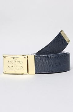 The Ruler Belt in Blue by Crooks and Castles