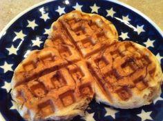cinn roll waffles