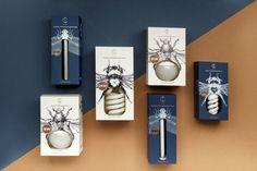 Bug lightbulb packaging.