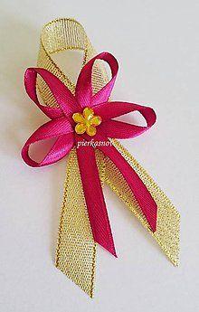 Diy Bow, Diy Ribbon, Ribbon Crafts, Flower Crafts, Diy Flowers, Christmas Crafts For Gifts, Craft Gifts, Diy Gifts, Diwali Craft