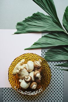 Edible Rooms: Ginger Sesame Mushroom and Chard Salad. / sfgirlbybay