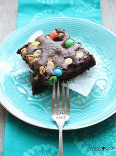 Healthier Double Chocolate Chobani Brownies