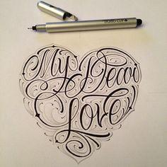 --- MY DEAR LOVE ---