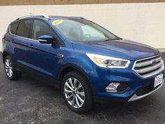 Ebay Advertisement 2018 Ford Escape Titanium Fwd 2018 Ford Escape