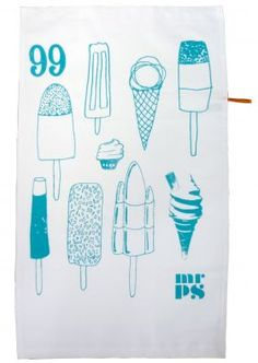 Lovely Lollies Tea Towel from Mr.PS