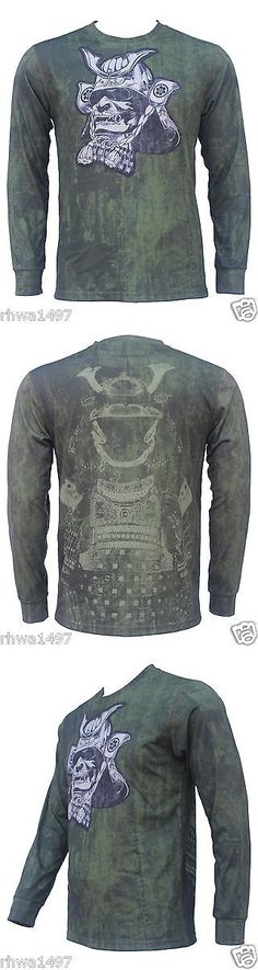 Other Mens Fitness Clothing 40892: Un92 Nameless Soldier Long Sleeve T-Shirts_Od Green -> BUY IT NOW ONLY: $34.95 on eBay!