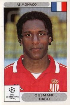 Ousmane Dabo Football Stickers, Football Cards, Football Soccer, Baseball Cards, Fifa, As Monaco, Star Wars, Man Games, Uefa Champions League
