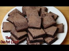 Gluten Free Chocolate Brownies | One Pot Chef - YouTube