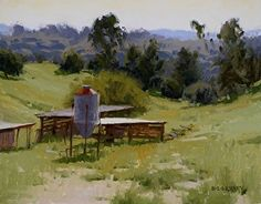Green Acres by Laurie Kersey Oil ~ 11 x 14
