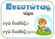 Verb Tenses (xroinoi rimaton) by PrwtoKoudouni Verb Tenses, Greek Alphabet, Greek Language, School Hacks, Teacher Pay Teachers, Teacher Newsletter, Speech Therapy, Special Education, Grammar