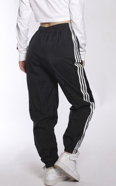 Vintage Adidas Wind Pants Source by pants outfit Sweatpants Outfit, Cute Sweatpants, Adidas Outfit, Adidas Pants, Adidas Sweatpants, Adidas Trackies, Jogging Outfit, Champion Sweatpants, Teen Fashion