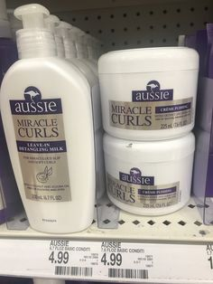 2 more products from the Aussie Miracle Curls collection. Leave-In Detangler and Creme Pudding. Curly Hair Routine, Curly Hair Tips, Curly Hair Care, Natural Hair Tips, Natural Curls, Curly Hair Styles, Natural Hair Styles, Aussie Hair Products, Products For Curly Hair