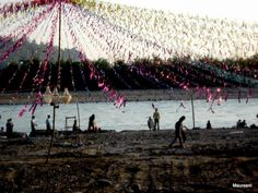 The Lovers Beach - Rishikesh Town India