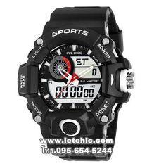 9d9b1da923f 2016 NEW Alike Brand Men fashion Sports Watches analog Digital LED Quartz  waterproof rubber Wristwatches relogio masculino