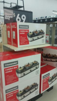 Kmart 3 join up slow cookers $69