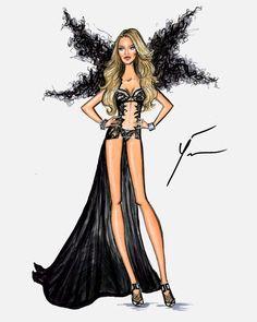 VS Fashion Show 2014 'Angel Ball': Candice Swanepoel by Yigit Ozcakmak