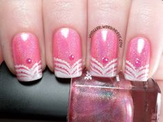 The Lacquer Ring - Pink Holo (and Stamping)