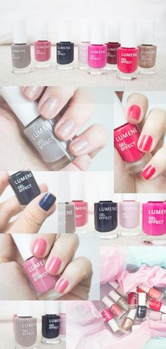 Blogger Livin up a notch's  picks from Lumene spring 2016 nail polish collection