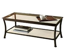 Mendocino Coffee Table Metal Glass Top Living Room Accent Furniture Storage Black 1 ** Check this awesome product by going to the link at the image.Note:It is affiliate link to Amazon.