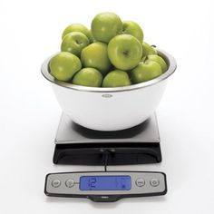 OXO Good Grips Stainless Steel Food Scale with Pull Out Display, 22-Pound $69.95 OXO,http://www.amazon.com/dp/B007WTI8J2/ref=cm_sw_r_pi_dp_cAFytb0RX7CGCQG7