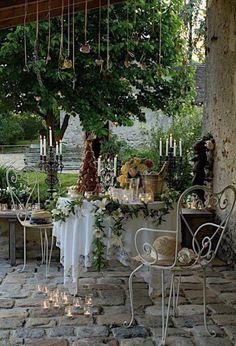 Romantisch zitje op het terras ❤️helemaal verliefd...