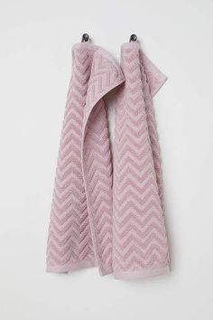 H M 2-pack Guest Towels - Pink 995457b2bcc08