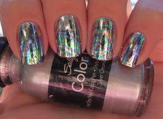 Oil slick nails