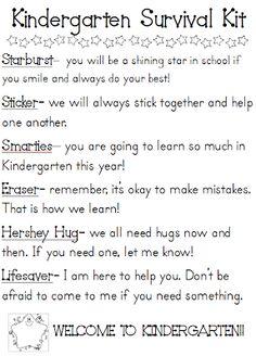 Meet the Teacher - Kindergarten but can be changed for 1st :)